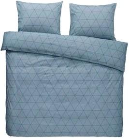 Comfort dekbedovertrek Bologna - blauw - 240x200/220 cm - Leen Bakker