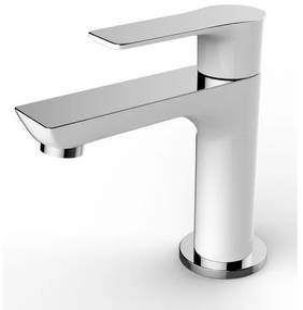 Wiesbaden Casma toiletkraan 1/2 draadaansluiting wit chroom 29.4281