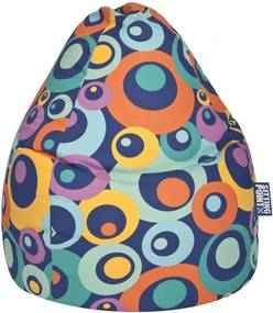 Sitting Point Kinder Zitzak BeanBag Kids MALIBU L - Donkerblauw