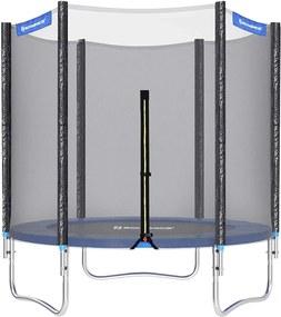 Nancy's Trampoline Met Veiligheidsnet - Trampolines - Tuin - Zwart/Blauw - Ø 183