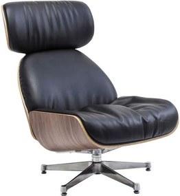 Kare Design Ponte Black Zwarte Comfortabele Fauteuil