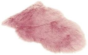 Schapenvacht 90 cm licht roze