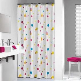 Sealskin Dots douchegordijn textiel 180x200cm multi 232721303