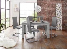 Homexperts eethoek »Nitro«, tafel - breedte 140 cm + 6 stoelen
