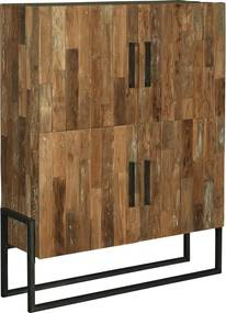 Tower Living Wandkast Potenza Industrieel Bruin