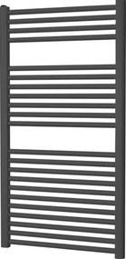 Plieger Palermo designradiator horizontaal 1111x500mm 519W donkergrijs 7252412