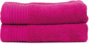 The One Towelling 2-PACK: Handdoek Basic - 50 x 100 cm - Magenta