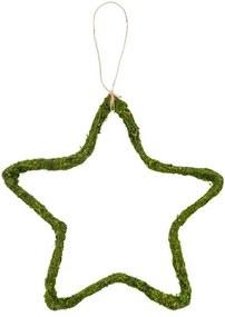 MOSTA Hangdecoratie groen Ø 30 cm