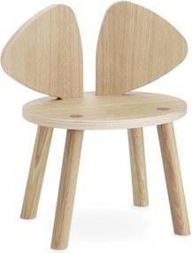 Nofred Nofred Mouse Kinderstoel Gelakt Oak