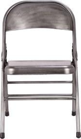 The Red Cartel | Set van 2 stoelen Telma lengte 48 cm x breedte 48,5 cm x hoogte 75 cm zilverkleurig stoelen metaal meubels | NADUVI outlet
