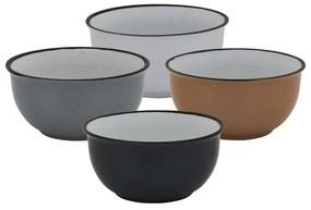 Schaaltje classic - diverse kleuren - Ø14 CM - set van 4