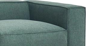 Feel Furniture | Bank Vic breedte 332 cm x diepte 67 cm x hoogte 109 cm donkergroen zitbanken materiaal bekleding : stofmateriaal | NADUVI outlet