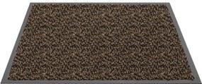 Schoonloopmat Bruin - Mars - 40 x 60 cm