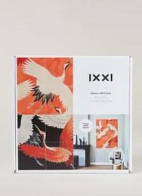 IXXI Kimono with Cranes reversible wanddecoratie 80 x 100 cm