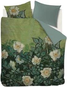 X Van Gogh Wild Roses Dekbedovertrek 240 x 200/220 cm