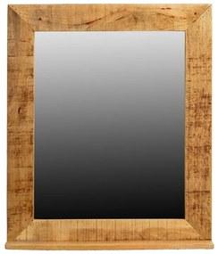Stoere Spiegel Van Mangohout - 67x80cm