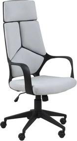 Moderne Bureaustoel Met Hoge Rug Grijs