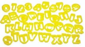 Kitchencraft Uitstekerset Alfabet Kunststof 5 Cm 36-Delig
