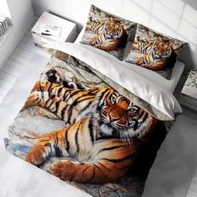 DLC Tiger Beauty 1-persoons (140 x 200/220 cm + 1 kussensloop) Dekbedovertrek