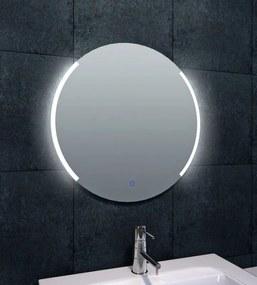 Round spiegel met LED-verlichting dimbaar 60 cm
