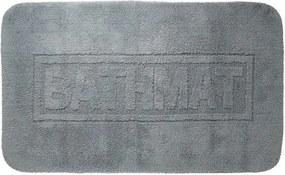 Badmat Antislip Sealskin Bathmat Katoen Antraciet 60x100cm