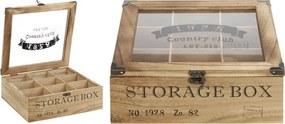 Theedoos Storage Box 9 vaks