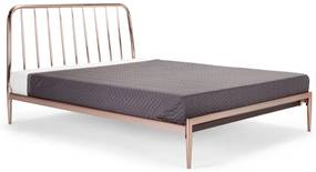 Alana super kingsize bed 180 x 200cm, koper