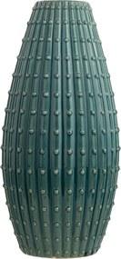 Bloemenvaas blauwgroen 41 cm DELFIA