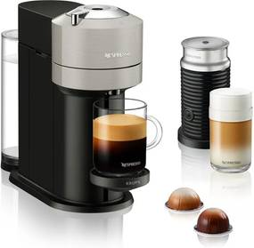 Krups Vertuo Next Nespresso machine & Aeroccino melkopschuimer XN911B