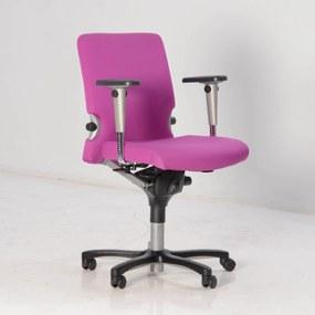 Bureaustoel Comforto 77, paars, 3D armleggers