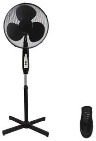 Staande ventilator met afstandsbediening STANDING 128 cm 40W