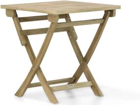 Garden Collections Derby inklapbare dining tuintafel 70 x 70 cm