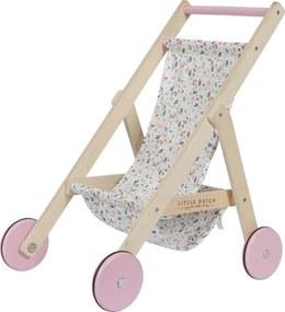 Poppenbuggy - Houten speelgoed