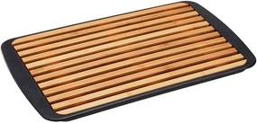 Snijplank Bamboe Met Opvangbak Zwart