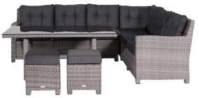 Westminster lounge diningset - Rechts - Organic grey