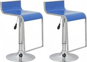 Barkruk Lamego blauw (set van 2)