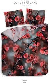 Heckett & Lane dekbedovertrek Ruma - rood - 200x220 cm - Leen Bakker