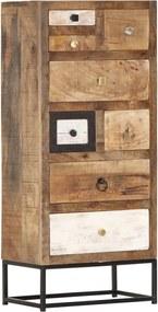 Ladekast 45x30x105 cm massief gerecycled hout