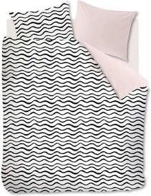 Ambiante dekbedovetrek Loke - soft pink - 140x200/220 cm - Leen Bakker