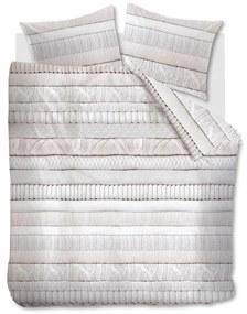 Rivièra Maison - RM Coziness Duvet Cover off-white 200x200/220 - Kleur: wit