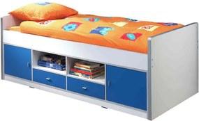 Vipack kajuitbed Bonny - blauw - 78,5x97,5x207 cm - Leen Bakker