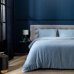 Presence Dekbedovertek Flanel - Simplicity  Blauw 1-persoons (140 x 220 cm + 1 kussensloop) Dekbedovertrek