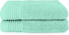 The One Towelling 2-PACK: Handdoek Deluxe - 50 x 100 cm - Mint