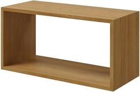 Artichok Module voor boekenkast Arthur - Eikenhout - Groot- Boekenkasten - Hout - Module kasten - Eiken - Modulaire boekenkast - Stapelbaar - aanpasbaar