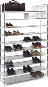 Schoenenrek 50 paar schoenen - Grijs