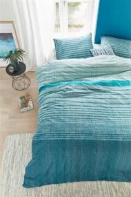 Beddinghouse | Dekbedovertrekset Java lits-jumeaux: breedte 240 cm x lengte 200/220 cm + blauw dekbedovertrekken katoen | NADUVI outlet