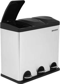 Nancy's Afvalbak - 54L Pedaalemmer Scheidingssystemen – Afvalscheiding - Prullenbak