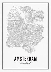 WIJCK Amsterdam Stad print