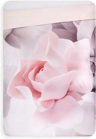 Hinnia Porcelain Rose dekbedovertrek van katoensatijn 220TC