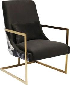 Kare Design Bold Moderne Fauteuil Bloempatroon
